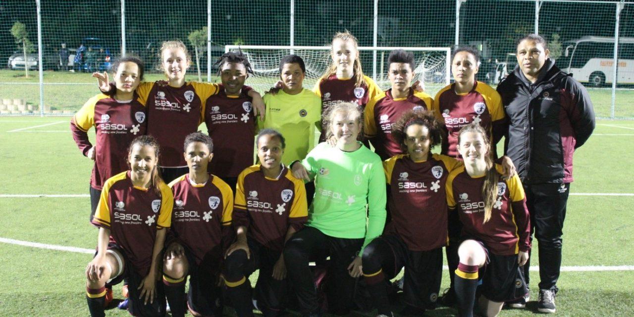 Women's football rising