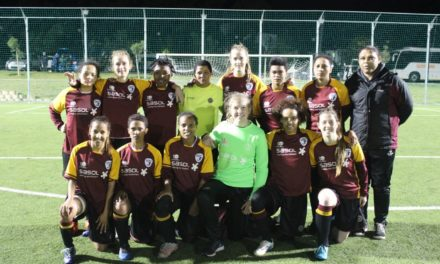 Women's football rising