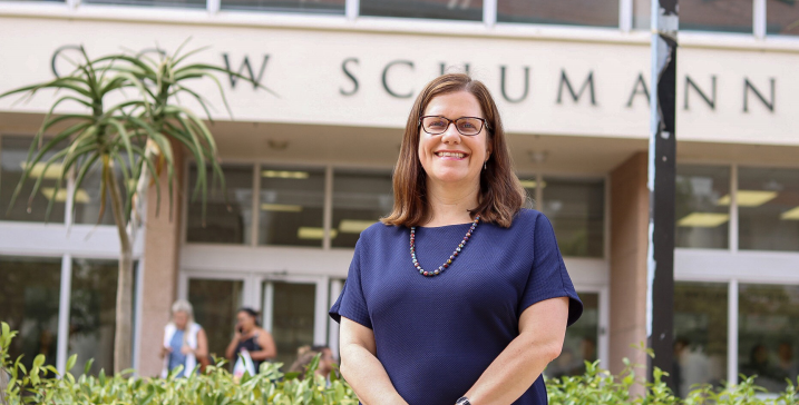 Economics faculty greets first female dean
