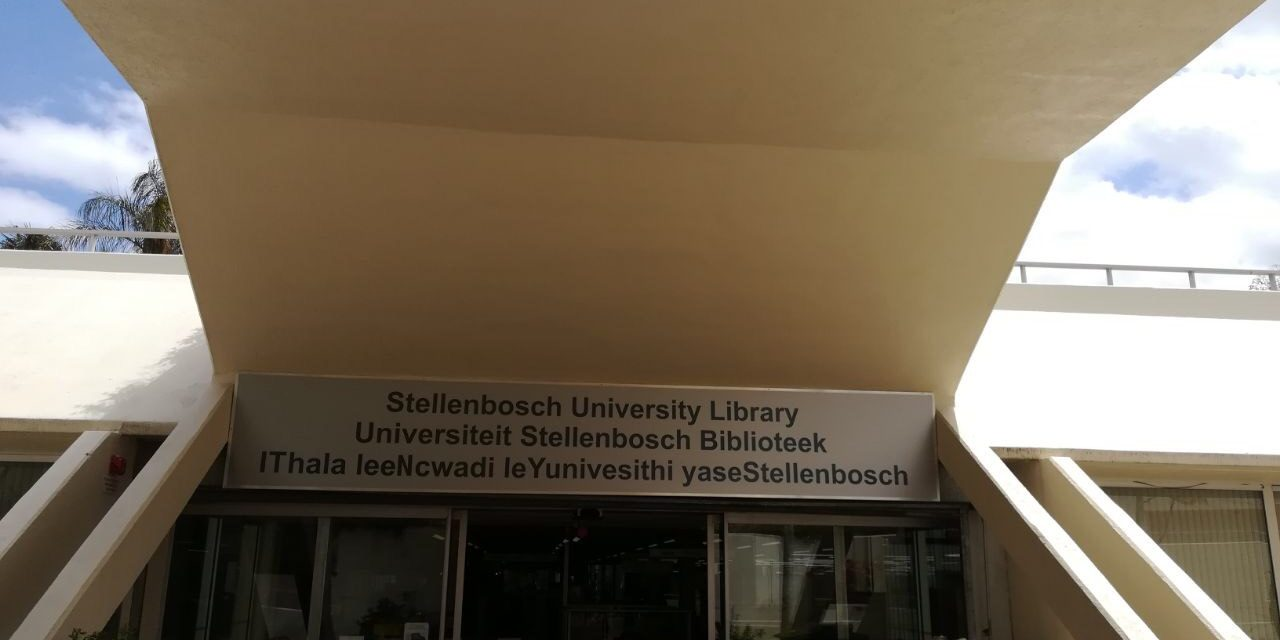 "New library name to ""promote transformation"" at Stellenbosch"