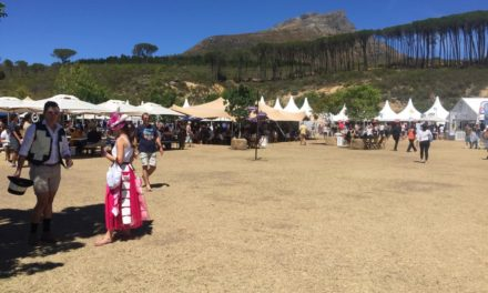 Protest at Wine Festival