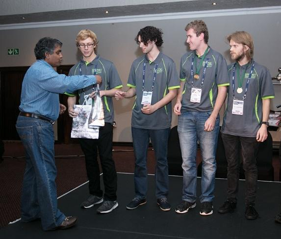 Computer Science team wins annual cyber challenge competition