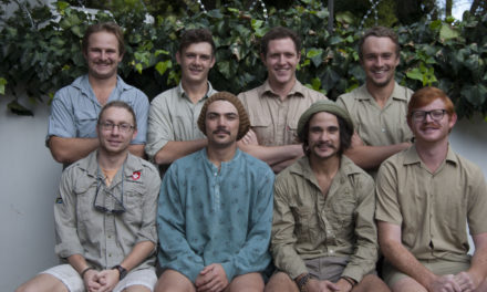 Stofrotte: A group of hard bearded, rugged men, but with soft hearts