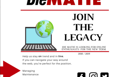 Join The Legacy: Die Matie Online Team