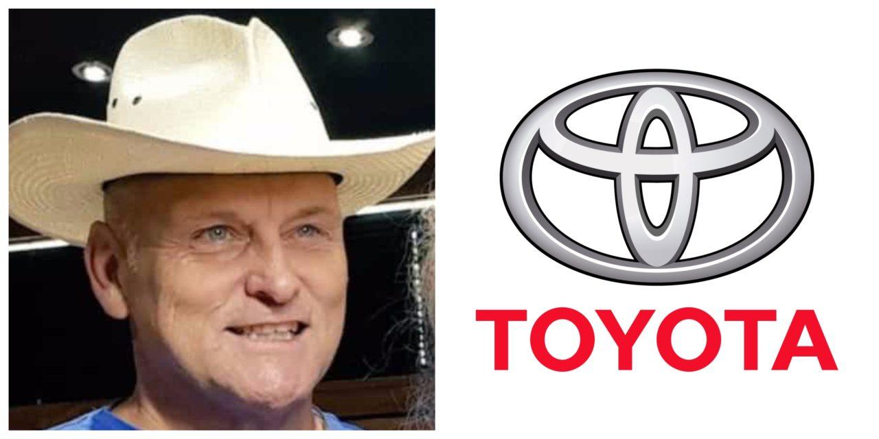 Toyota borg Woordfees; Steve bly weg