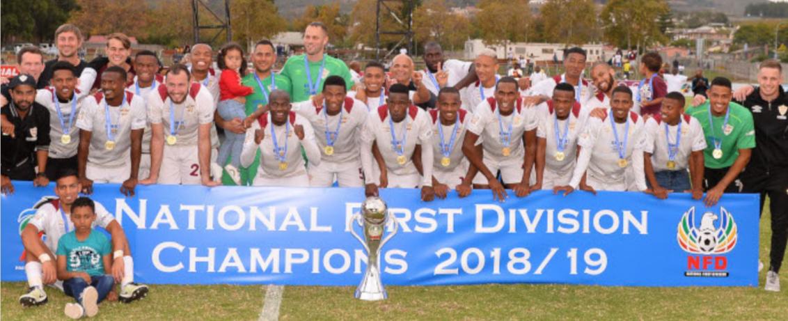 Stellenbosch Football Club hits the spot