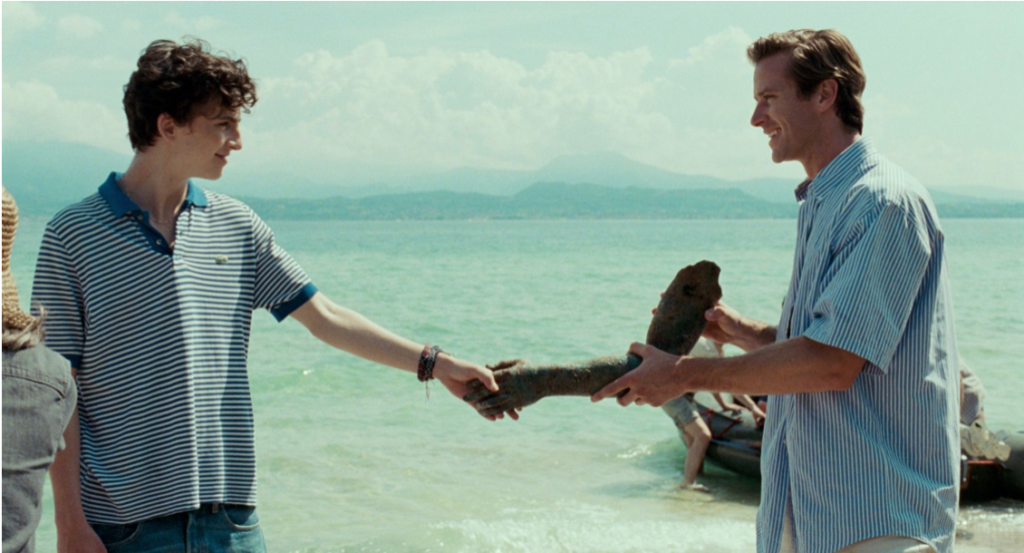 """A scene from """"Call Me By Your Name"""""""